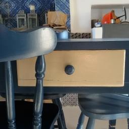 dettaglio tavolo cucina Ginostra