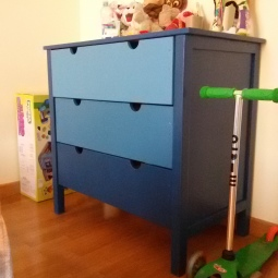 Cassettiera camera bambino