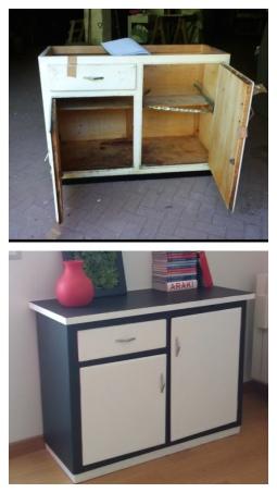 Mobile ufficio - prima e dopo