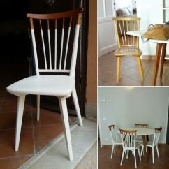 Sedia danese - Prima e dopo