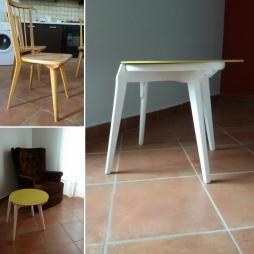 Trasformazione: da sedia atavolino