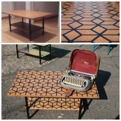 Tavolino Esagoni al quadrato
