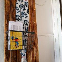 porta lettere e sac a poche realizzato con materiali di scarto